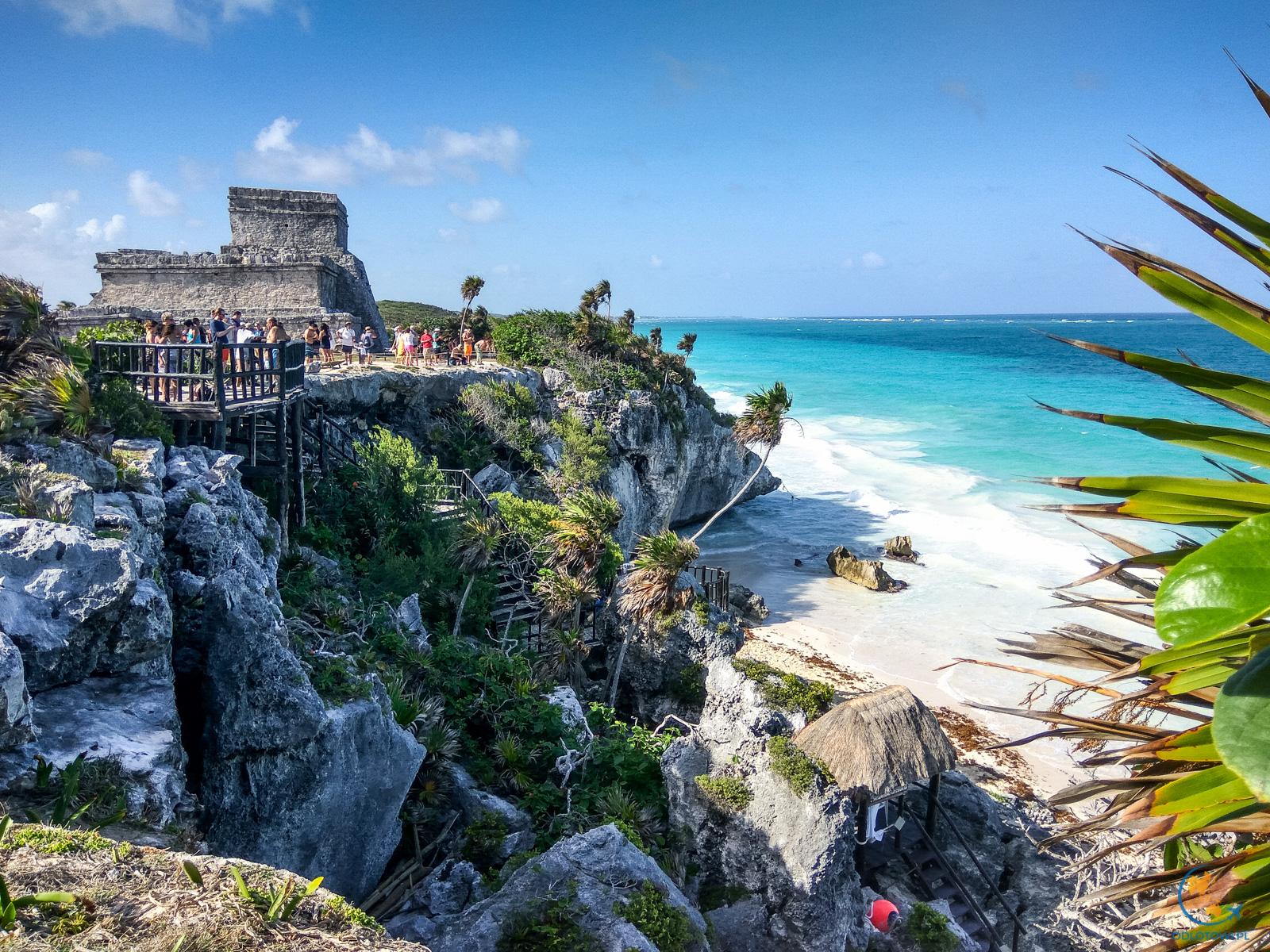Ruiny Majów w Tulum (Meksyk)