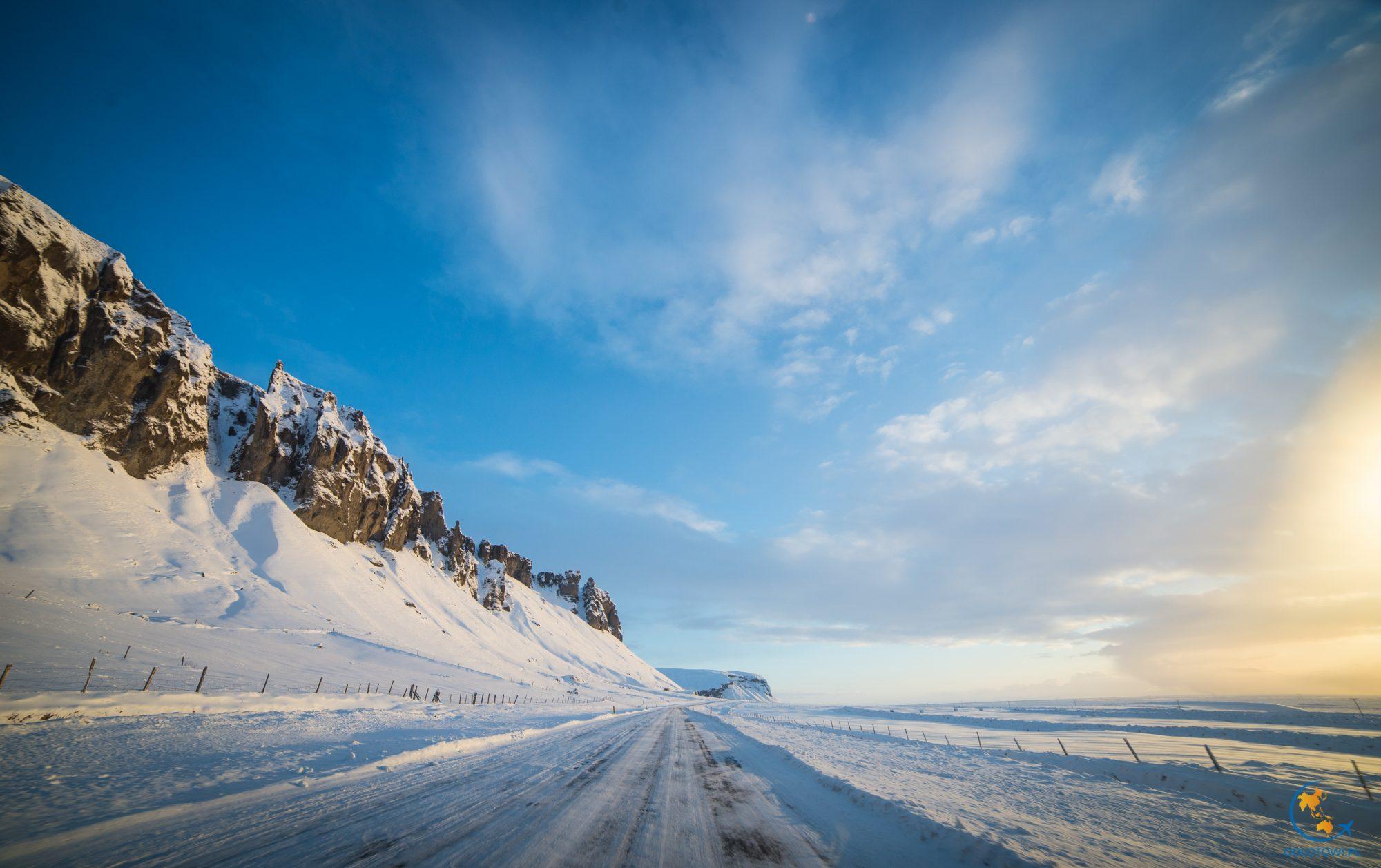 W drodze na lodowiec Vatnajokull i lagunę Jokulsarlon