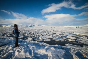 lodowiec Vatnajokull i laguna Jokulsarlon