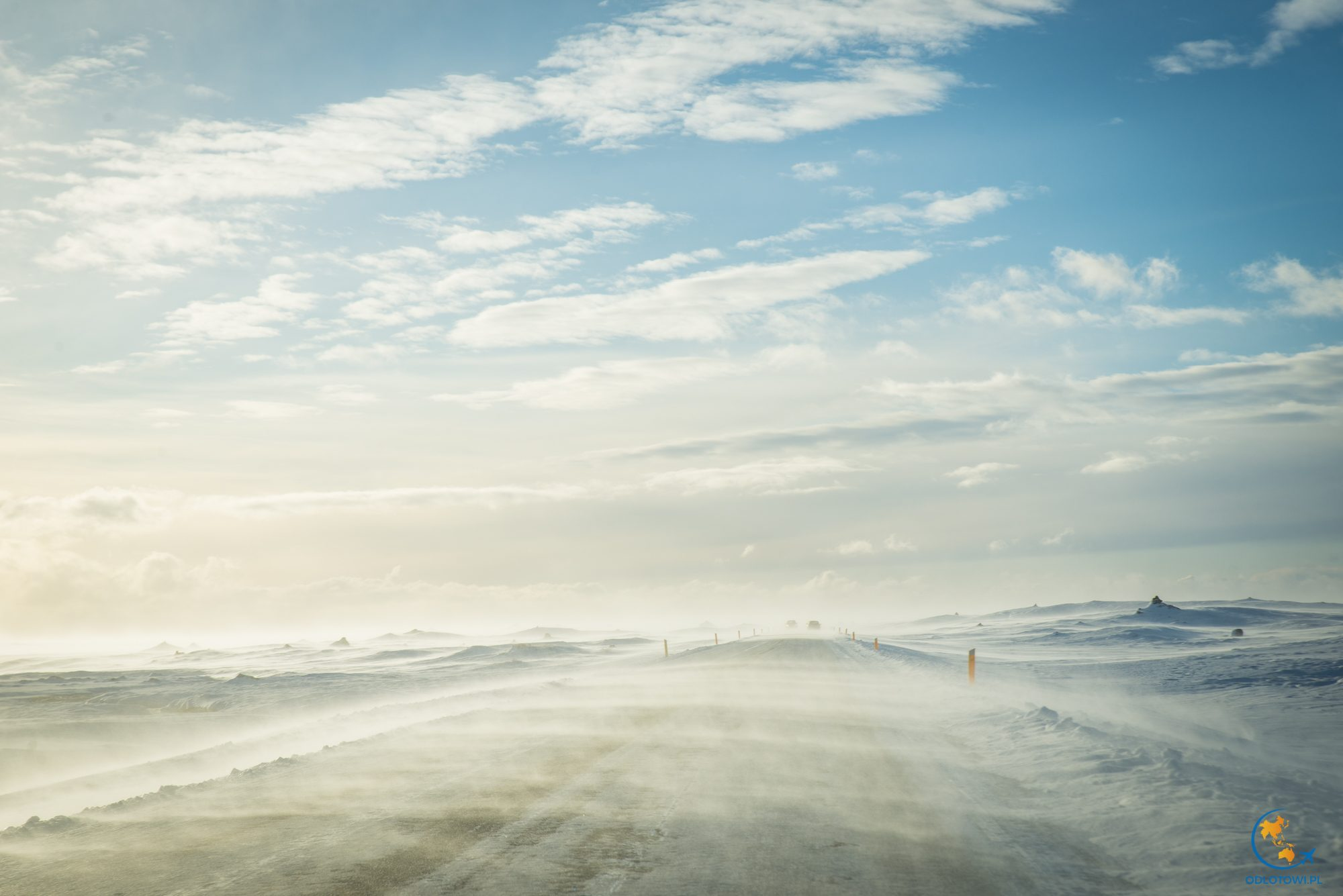 Drogi na Islandii zimą