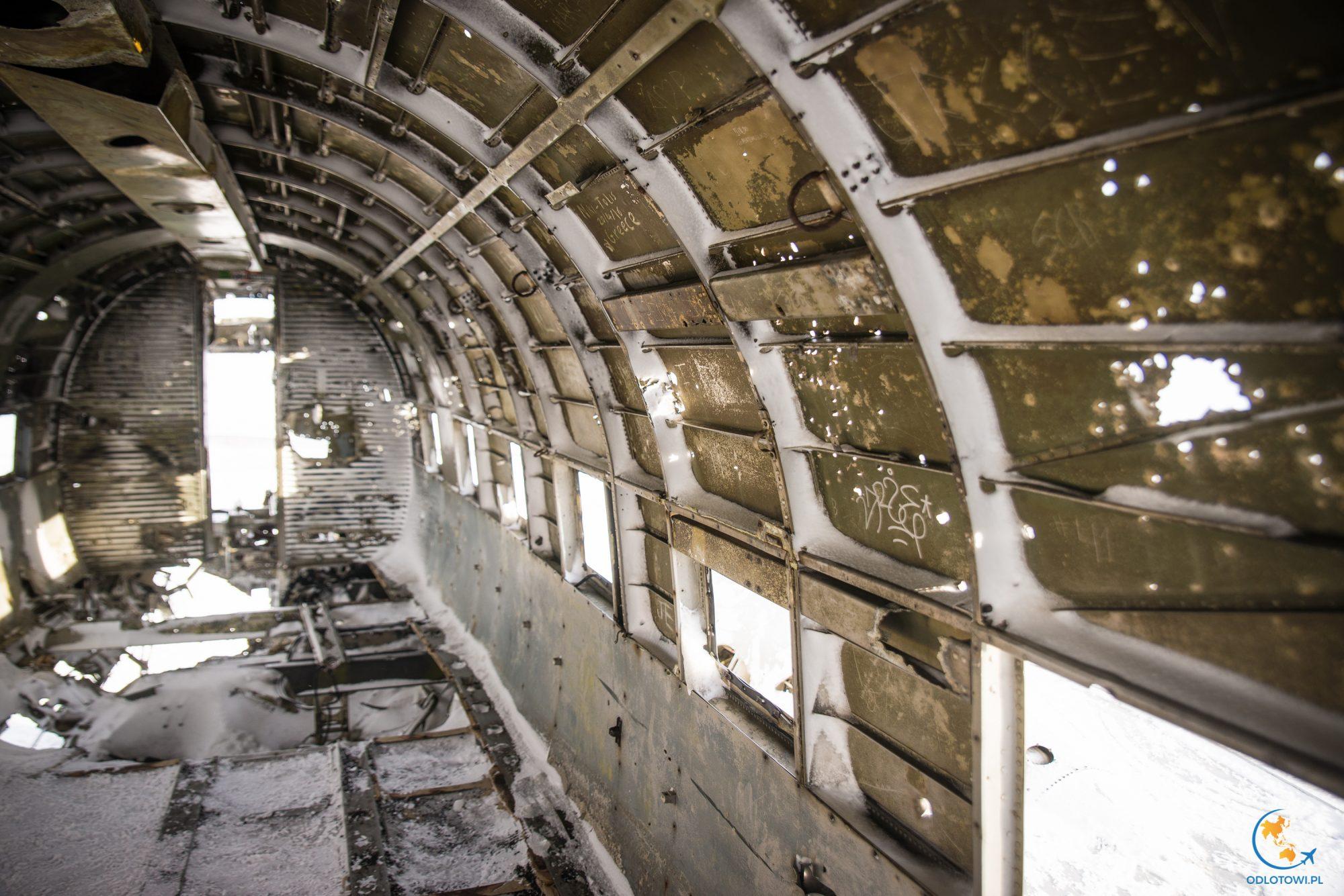 Wrak samolotu U.S. Navy DC-3
